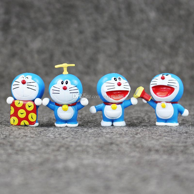 EMS Anime Doraemon PVC Action Figure Collectable Model Toy for kids gift