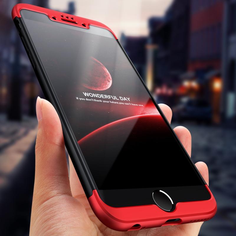 2612e52dd59 Fundas Para El Celular Funda Estilo PhoneX Para IPhone 8 8 Plus 7 7 Plus  Funda De Protección Completa De 360 grados Para PC Dura 3 En 1 Cubierta  Posterior ...