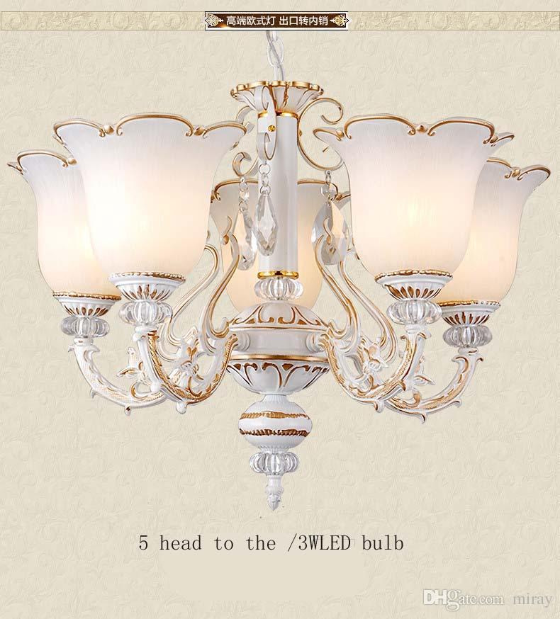 Gro handel europ ischen stil kronleuchter kristall lampe for Esszimmer leuchte kristall