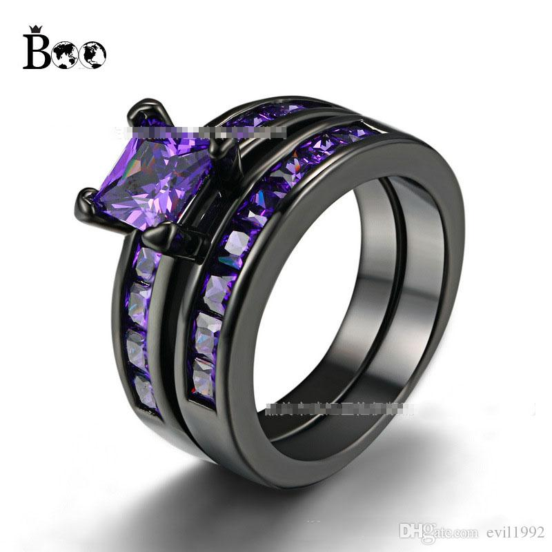 ring s oxjj amethyst inlay mens with stone rings men crushed fullxfull listing il wedding purple zoom titanium