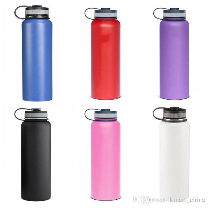 40oz Vacuum Insulated Stainless Steel Water Bottle 304 ...