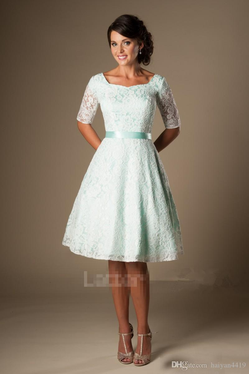 Bridesmaid dresses 2017 cheap lace short for weddings mint scoop bridesmaid dresses 2017 cheap lace short for weddings mint scoop neck half sleeves sashes plus size zipper back formal maid of honor gowns junior bridesmaid ombrellifo Image collections
