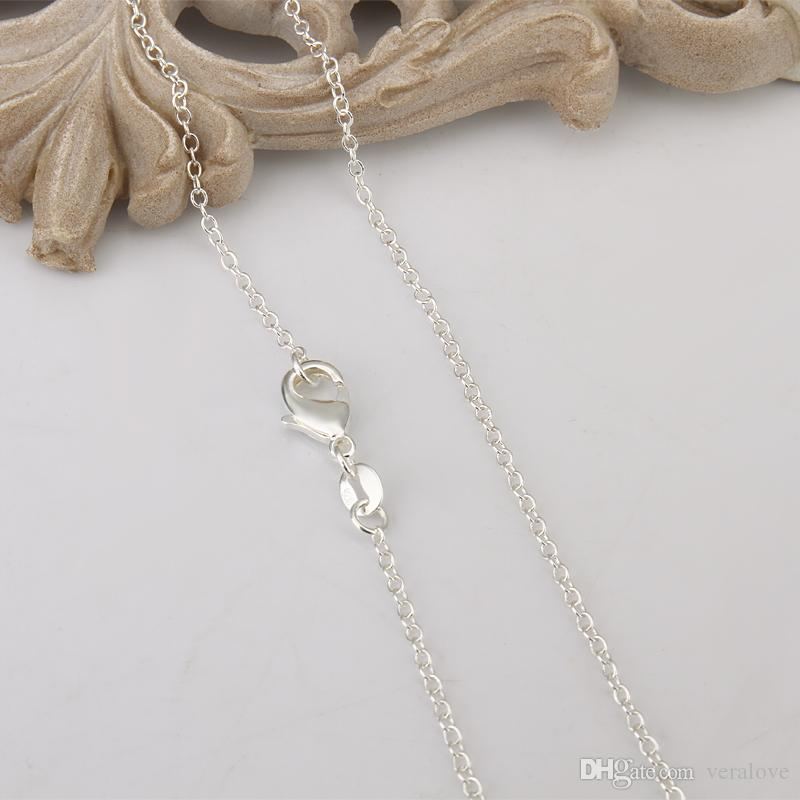 Round Shape Wedding Accessory 18 inches Bride Necklace Simple Design Cheap Price Bride Jewerly Necklace Girls Prom Party Wear