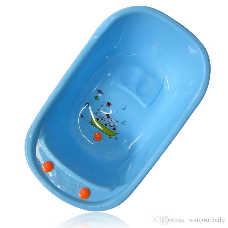 Großhandel Blaue Farbe Kinder Cartoon Badewanne Für Jungen Mädchen