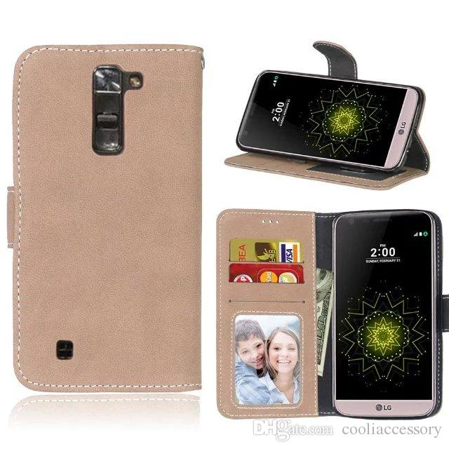 For Nokia Lumia 950 XL 640 Motolara Moto G4 Plus Play G3 E2 X Style Case Wallet Leather Flip Retro Matt TPU Pouch Stand Frosted Photo Cover