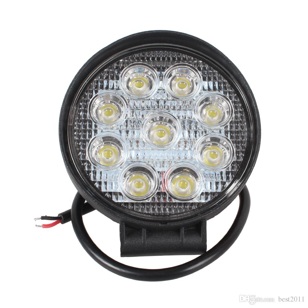 4.3 Inch 27W LED Work Light Bar for Indicators Motorcycle Driving Offroad Boat Car Tractor Truck 4x4 SUV ATV Flood 12V 24V
