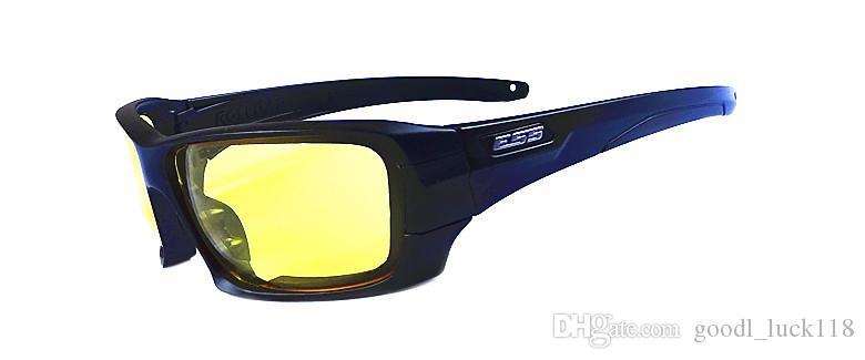 ESS Rollbar Terrian Balistik Güneş Gözlüğü, Orijinal Durumda Polarize 4 Lensler Askeri Gözlükler, Taktik Ordu Eyeshie Değil Ess Crossbow ICE