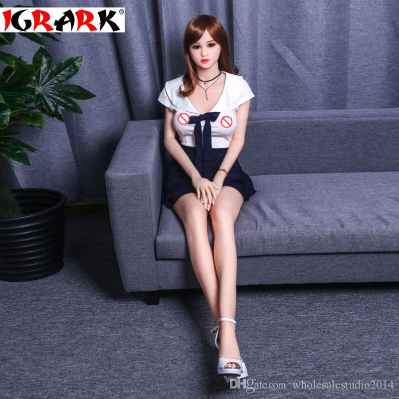 igrark real size high quality full silicone sex dolls with skeleton,165cm158cm140cm beautiful wife sex doll for men