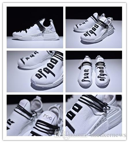 2f9120526 Collab Race Basf Boost NMD Human Sneaker Boost Men S Sport Running Shoes  White Black Shoe Shop Mens Sale From Sneakernews