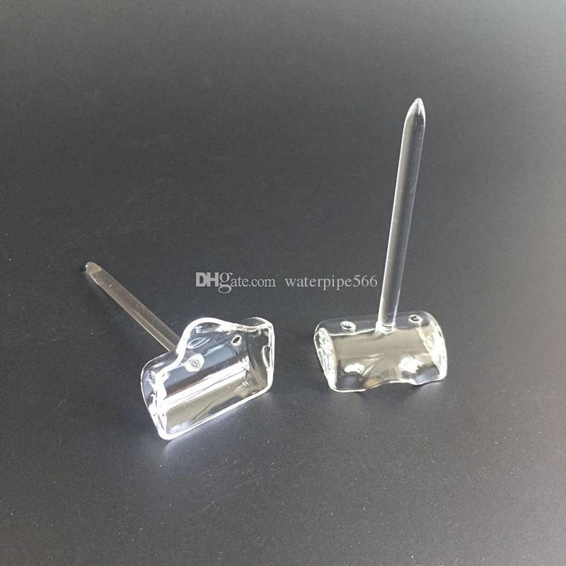 dozer banger nail with carb cap set quartz dozer nail with downward carb cap with 10mm/14mm/18mm clear joint