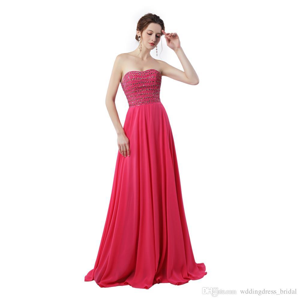 Dubai Evening Dresses Vestido Longo Plus Size 2019 Rhinestones Long ...