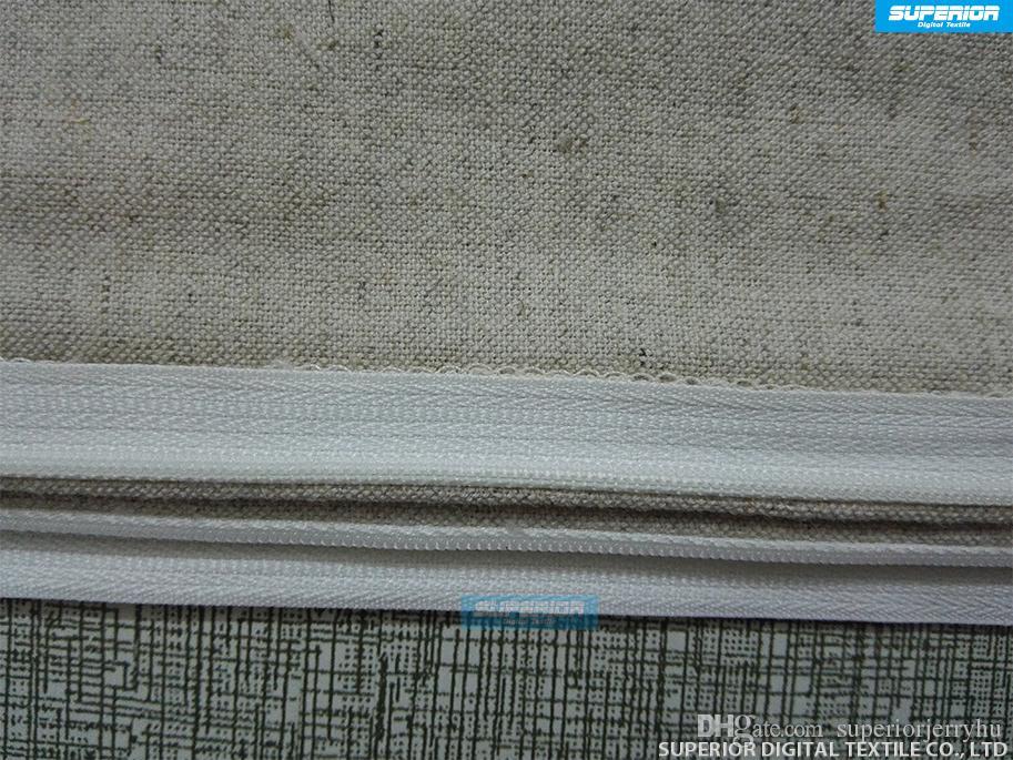 30 stücke ALLE GRÖSSEN Natürliches Graues Leinen-Baumwolle Gemischt Kissenbezug Grau Leere Leinen Kissenbezug Natürliche Feine Leinen Kissenbezug Für DIY HTV