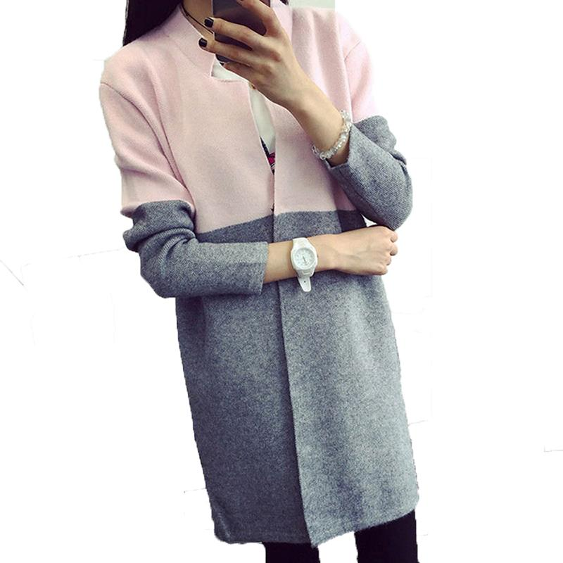 2018 Wholesale Cardigan Wool Sweaters Knitted Women Fashion Winter ...