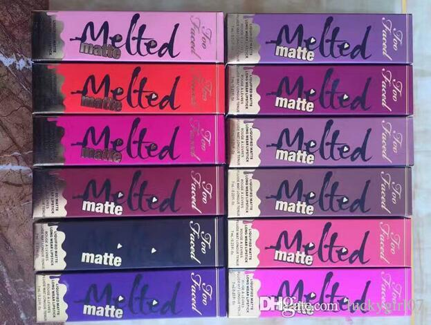 New Brand Melted Too Makeup Faced Melted Lip Gloss Sexy Make Up Melted Matte Liquified Long-Wear Matte Lipsticks
