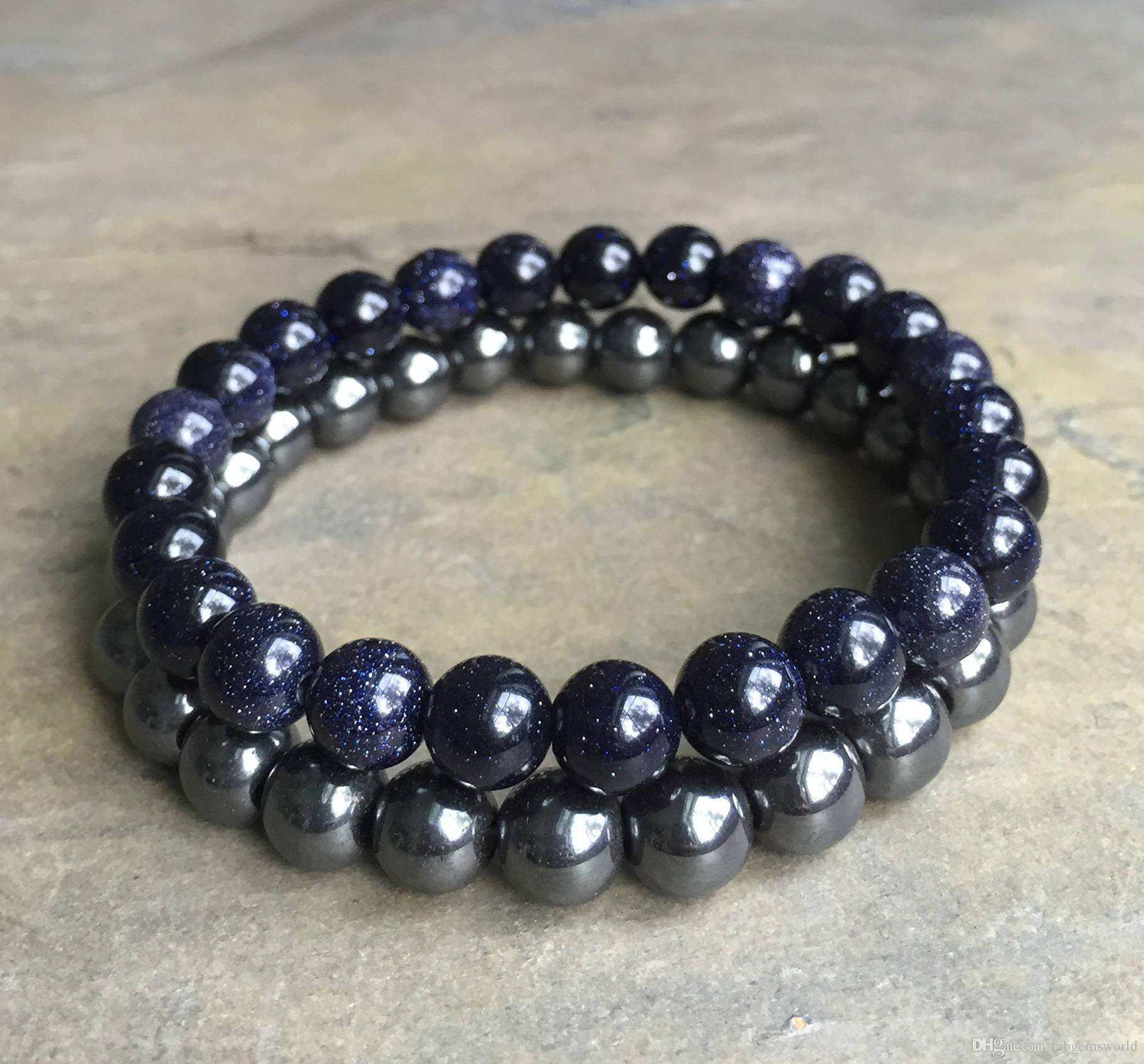 head jewelry making bracelet for lava natural black wholesale gemstone buddha beads