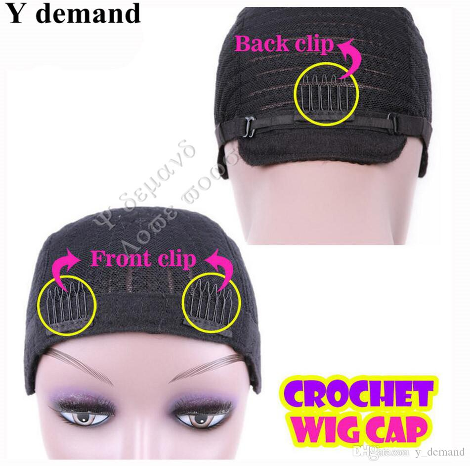 Black Cornrow Wig Caps For Weaving Lace Wigs Caps With S M L,Cap Net Braids Cap Good quality Y demand