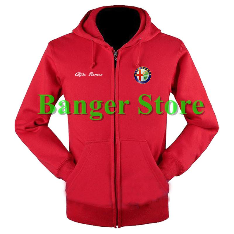 2019 Wholesale Alfa Romeo Sweatshirts Coat Custom Alfa Romeo 4s Shop