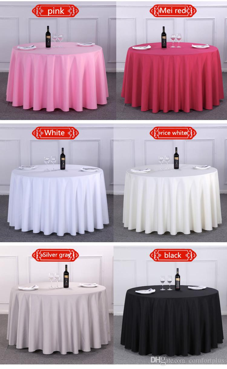 Luxurious Polyester Round Size Table Cloth Rectangular Tablecloth Hotel  Party Wedding Tablecloth Machine Washable Fabric Cloth Table Banquet Table  Linens ...