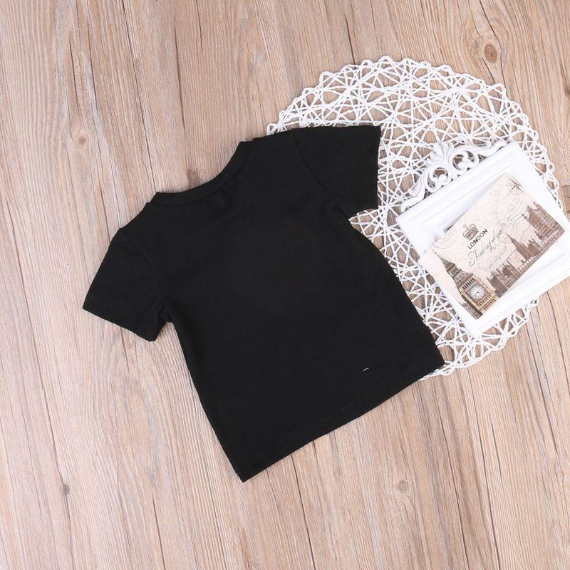 Enfants T-shirt pour Vêtements Pour Garçons 2017 plus récent Bébé D'été TopsTee Coton Enfants vêtements bambin combinaison