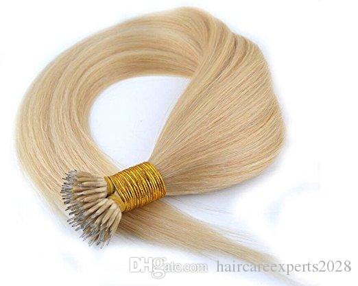 "Wholesale Nano Rings Hair Extensions 1g/Strand 60# 50s/pack 26"" NoTangle No Shedding Fast Shipping"
