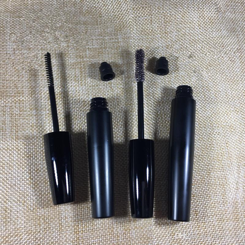 Frete grátis Capacidade 5 ML 7 ML rímel preto tubo cosmético cotainer recipiente rímel compõem tubo vazio F2017558