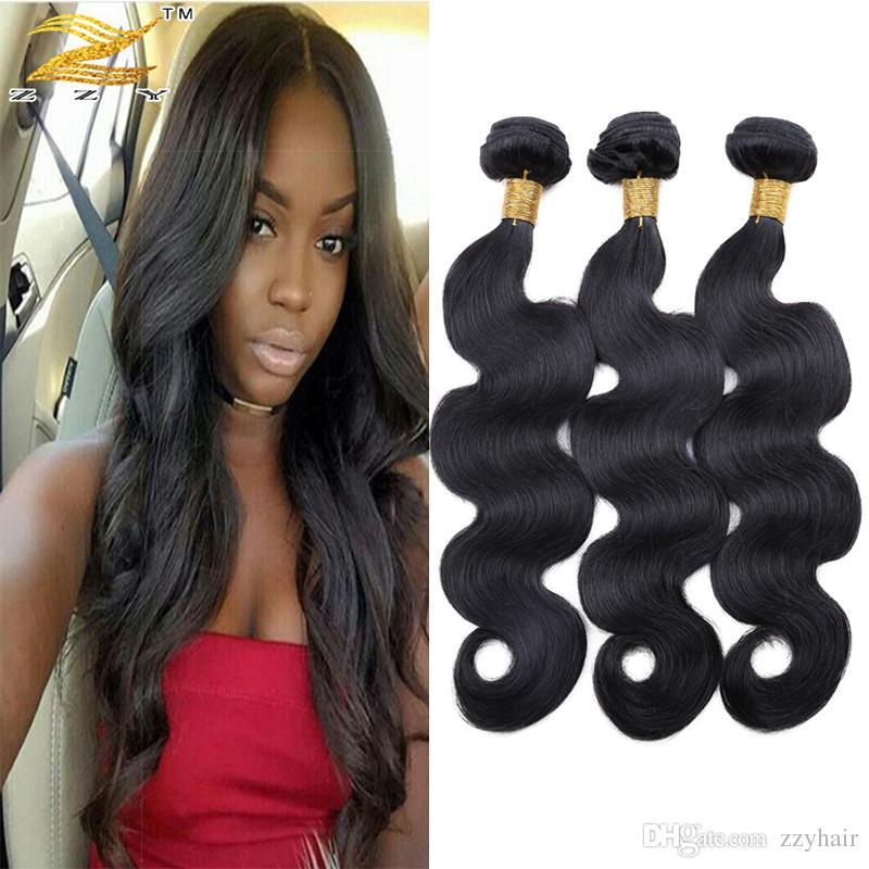 Human Hair Weave Body Wave Brazilian Virgin Human Hair Bundles Weave