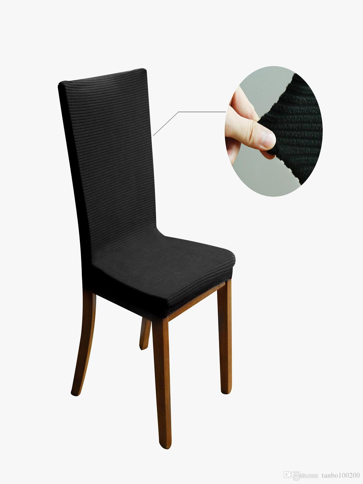 Ordinaire Stretchy Dining Chair Cover Short Chair Covers Washable Protector Seat  Slipcover For Wedding Party Restaurant Home Decor Dining Room Seat Covers  Dining ...