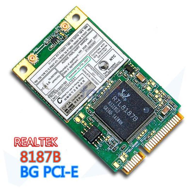 Pci Wlan Karte.Großhandels Realtek Rtl8187b Mini Pci Express Wlan Karte 802 11 B G Wireless Wifi Pci E Netzwerk Ethernet Wi Fi Adapter Versandkostenfrei