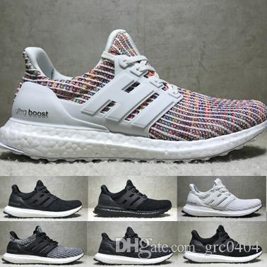 Adidas adidas UltraBoost 4.0 Multi Color Athletic Shoes for Men
