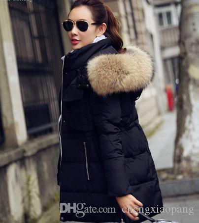 2017 Wholesale New 2015 Winter Jacket Women Real Fur Coats Female Hot Sale  High Quality Women'S Down Jackets Long Coat From Chengxiaopang, $45.23 |  Dhgate. - 2017 Wholesale New 2015 Winter Jacket Women Real Fur Coats Female