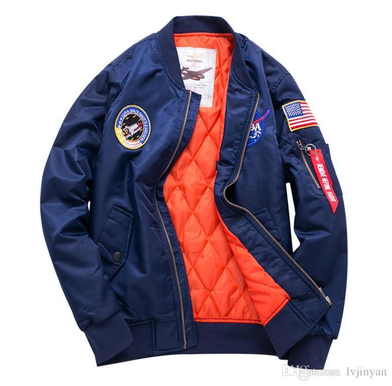 Veste Air Vestes Homme Militaire Casaco Bomber Gilet Taille Plus Coupe Vent Masculino Hommes Force Ma1 Hiver Vol Parka Varsity Pilote La hQCtsrdx