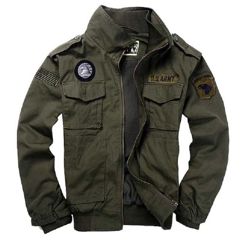 Military Style Jackets Pilot Coat Usa Army 101st Airborne Division ...