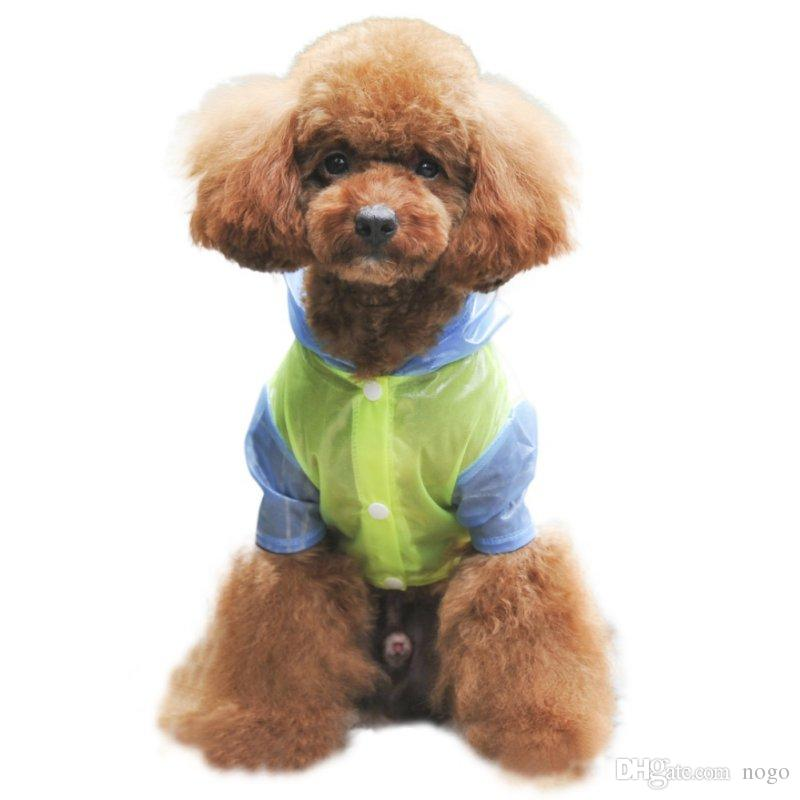 Pet Dog Coats Clothes Raincoat Waterproof Jacket for Small Large Size Dog Cat Outdoor Apparel Puppy Product Small Dog Raincoat