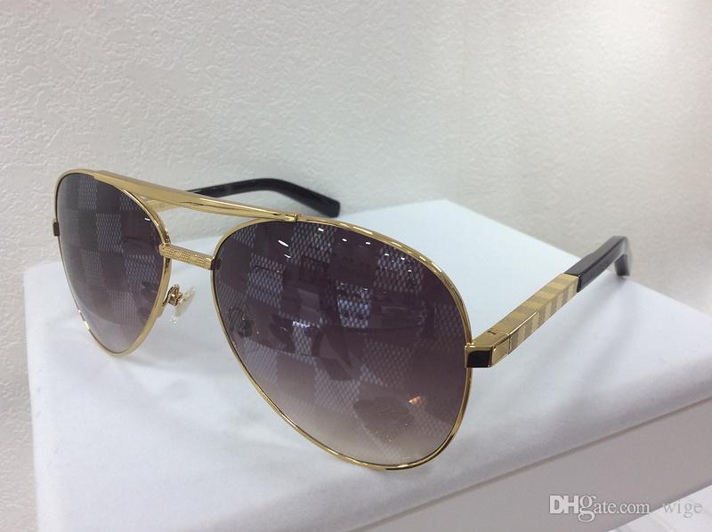 9cad0e5ecbe47 MENS ATTITUDE PILOTE GOLD Pilot SUNGLASSES Z0339U WITH RECEIPT Designer  Sunglasses Brand New With Box Serengeti Sunglasses Sun Glasses From Wige