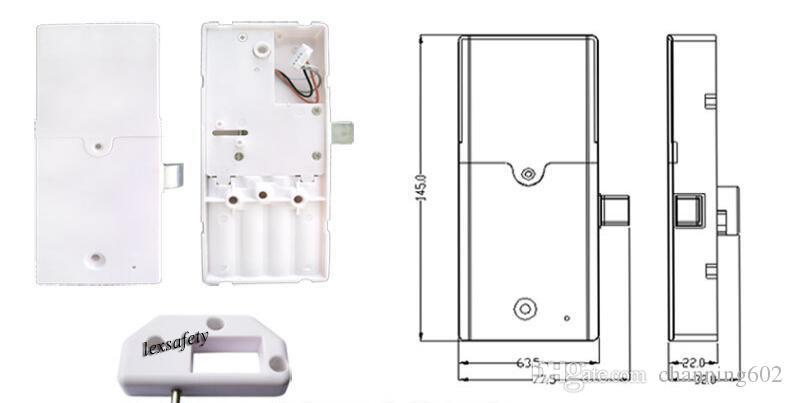 serrure de mot de passe de clé en métal de carte de RFID de contact de clavier numérique de serrure de casier de coffret électronique électronique de serrure, serrure de clavier / casier de serrure de clavier