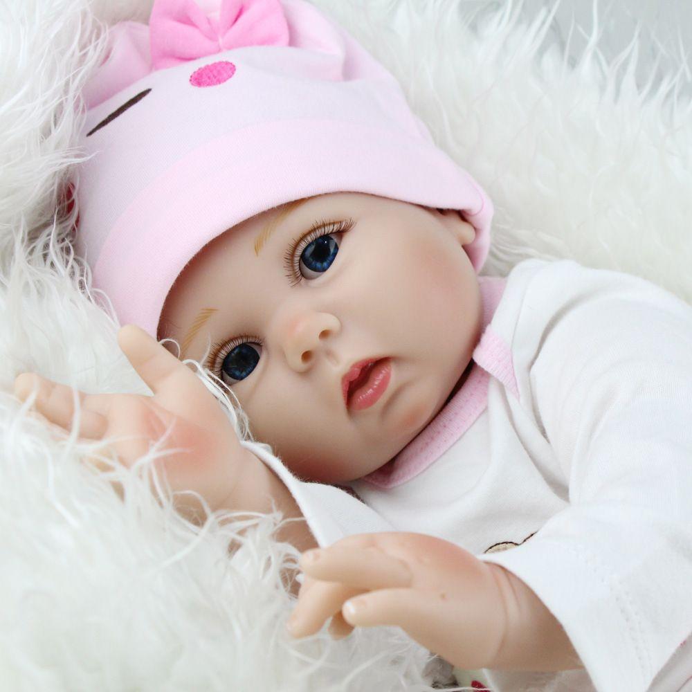 Baby Reborn Baby Dolls Lifelike Doll Reborn Babies Toys