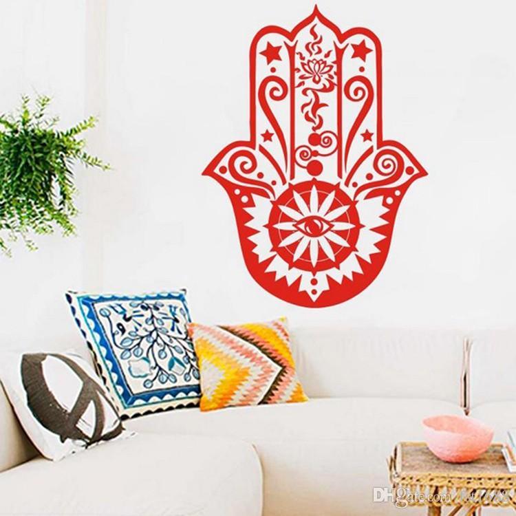 Patterned Decorative Skull Design Wall Art Vinyl Stickers Mural Transfer Decal
