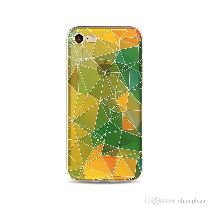 phone shell marble painted phone shell relief soft shell TPU creative art mobile phone sets