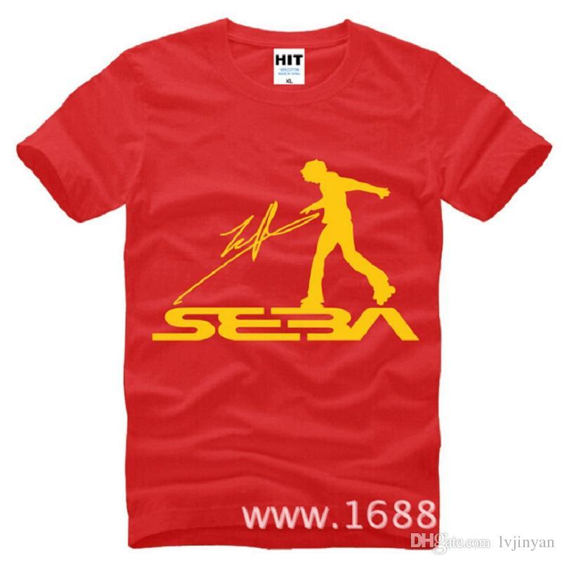 New Summer Style SEBA T Shirts Men Cotton Short Sleeve Skateboarding Men's T-Shirt Fashion Roller Skating Jerseys Sport Shirts