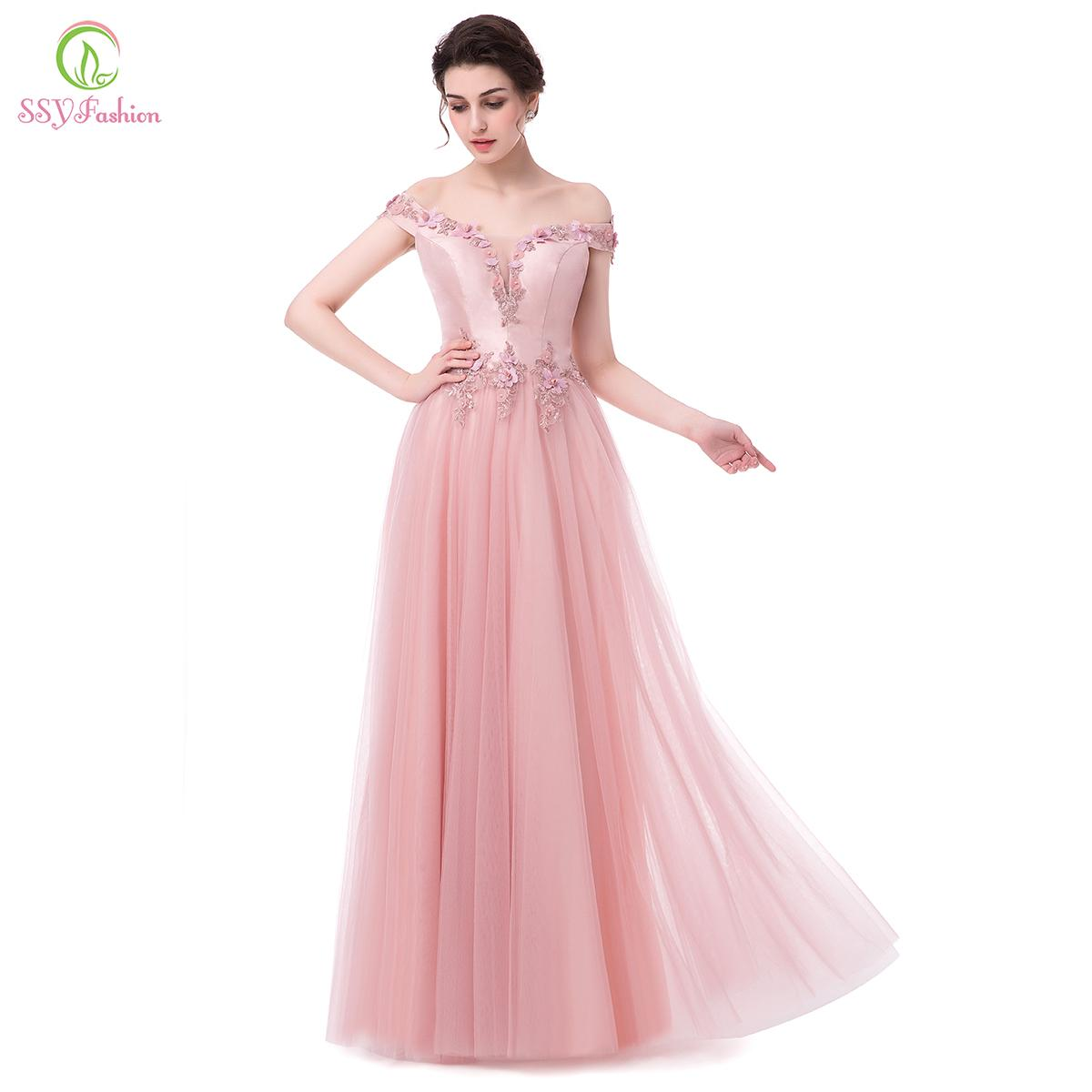 Ssyfashion New Flower Girl Dresses For Wedding Sweet Pink Lace Appliques With Beading Sleeveless Short Children Party Gowns Weddings & Events