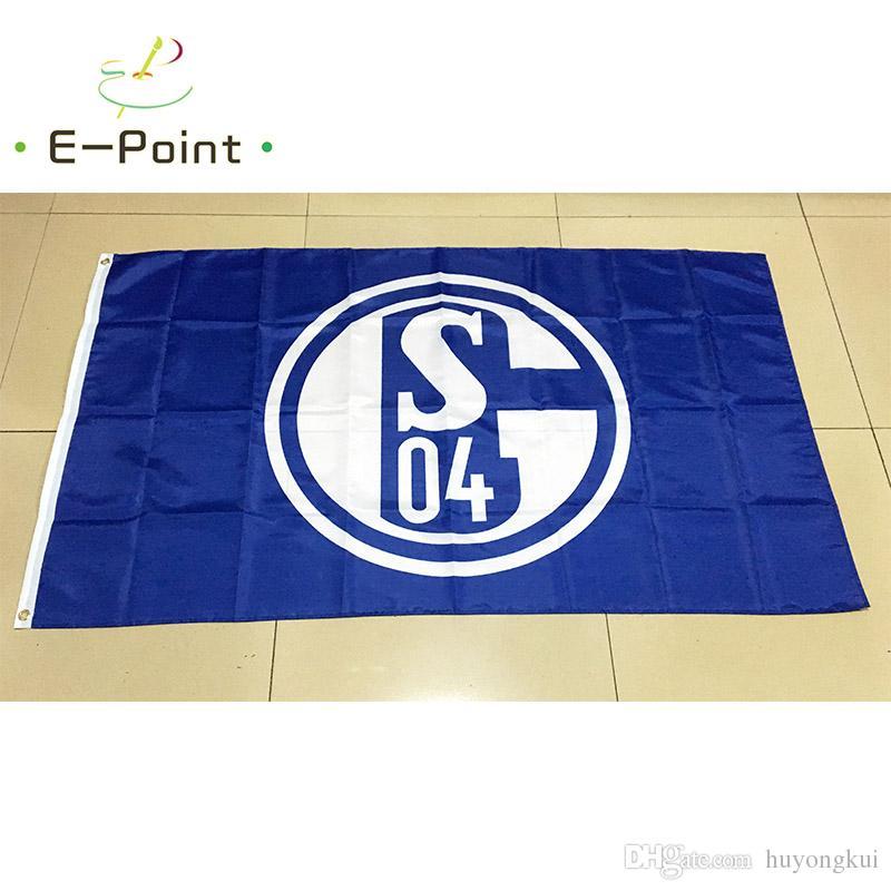 2020 Germany Fc Gelsenkirchen Schalke 04 3 5ft 90cm 150cm Polyester Flag Banner Decoration Flying Home Garden Flag Festive Gifts From Huyongkui 4 83 Dhgate Com
