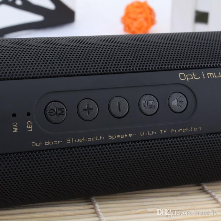 T2 휴대용 무선 블루투스 스피커 스테레오 하이파이 박스 야외 방수 지원 SD TF 카드 FM 라디오 슈퍼베이스 블루투스 스피커