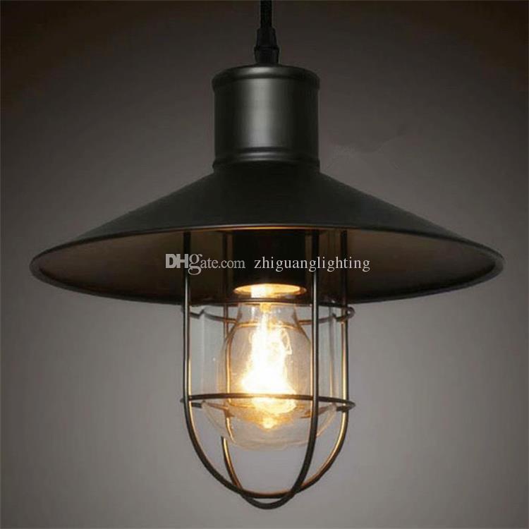 Modern Copper Ring Led Pendant Lighting 10758 Shipping: Rustic Pendant Lights Vintage Style Pendant Lamps Rounded