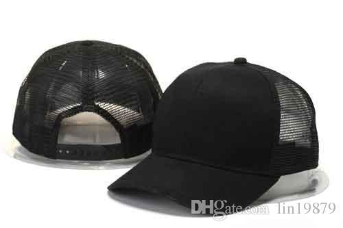 0bb5f1d9233 New Arrive Casquette Classic Blank Mesh Baseball Caps Brand Men Women Hip  Hop Cap Swag Style Gorras Hats Snapback Bone Trucker Caps Flat Bill Hats  From ...