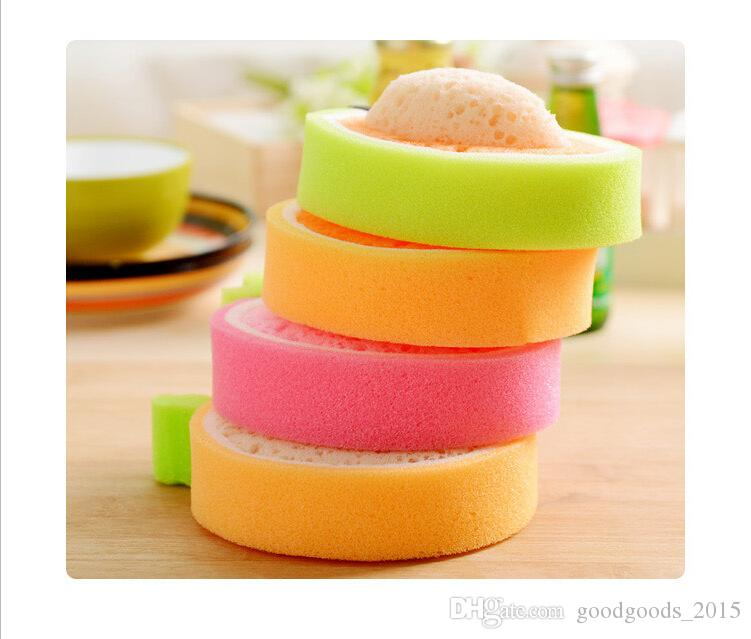 Fruit thickening sponge to wipe microfiber cloth cloth Dish cloth wholesale strong decontamination dish towels