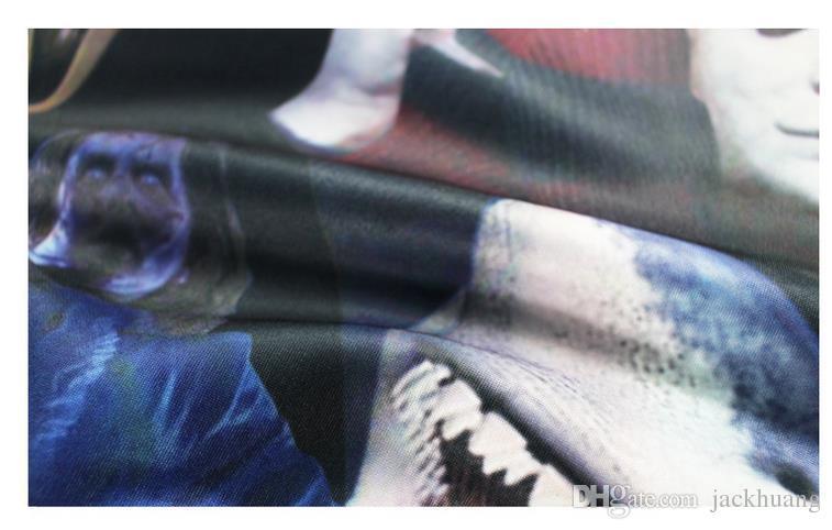 Horror Film Killers Michael Myers Hellraiser Hannibal Lecter drucken Joggers Trainingsanzug Unisex Pants + Hoodie Sweatshirts Outfit