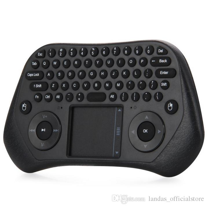 2.4GHz Wireless Touchpad Keyboard Air Mouse with Remote Controller for PC Laptop Projector for PC