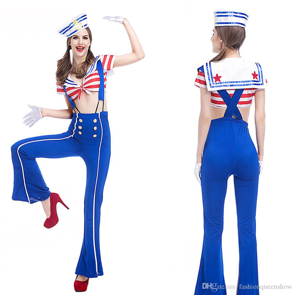 womens sexy sailor costume