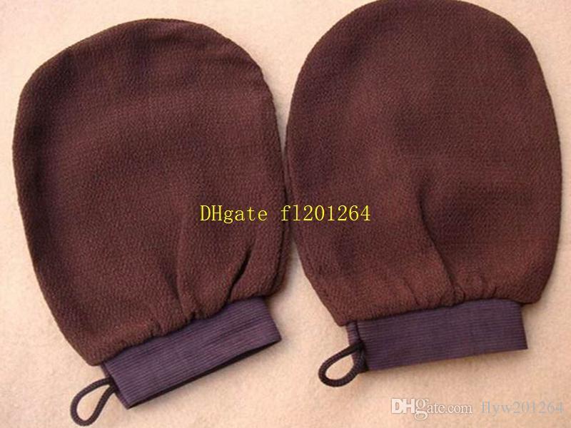 50шт/много Бесплатная доставка Оптовая хаммам скраб рукавицей магия пилинг перчатки отшелушивающий ванна перчатки Марокко скраб перчатка