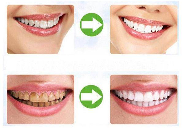 Dientes de grado alimenticio Pasta dental en polvo Dentífrico de bambú Higiene del cuidado bucal Limpieza natural activado carbón orgánico Diente Amarillo Tinción DHL